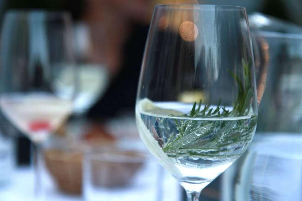 So&So Schnpas in einem Glas