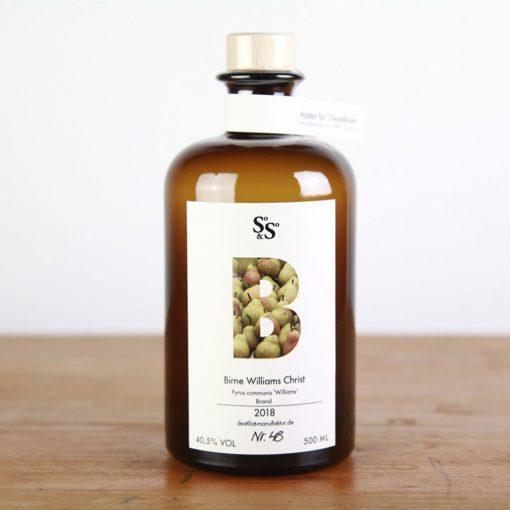 Birnen-Brand aus der So&So Destillat Schnaps Manufaktur